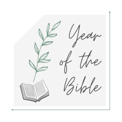The Year of the Bible: Join Us Today!