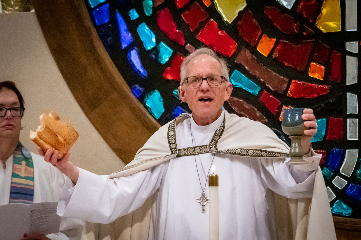 April 21, 2019:  On Easter Sunday, Pastor Bob Keefer invites everyone to celebrate Communion at Christ's table.