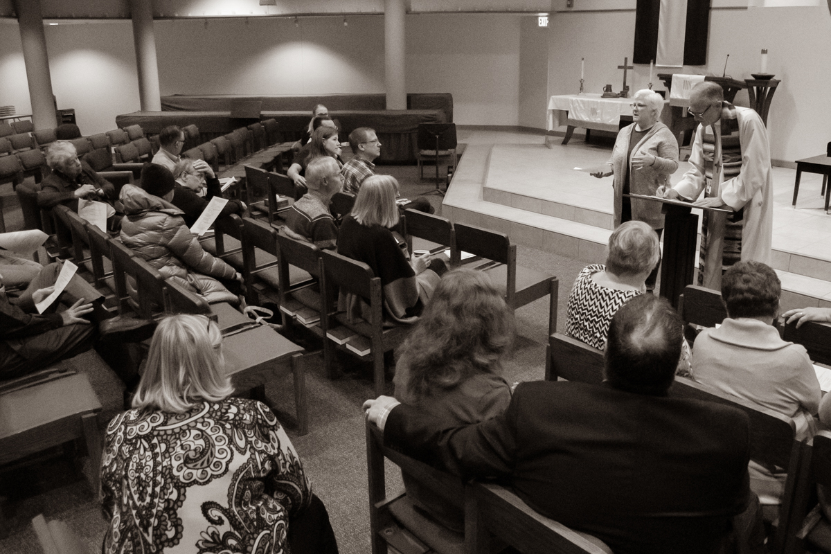 April 28, 2019:  In late April, the congregation discussed the open staff position and the possibility of hiring a Director of Christian Education.
