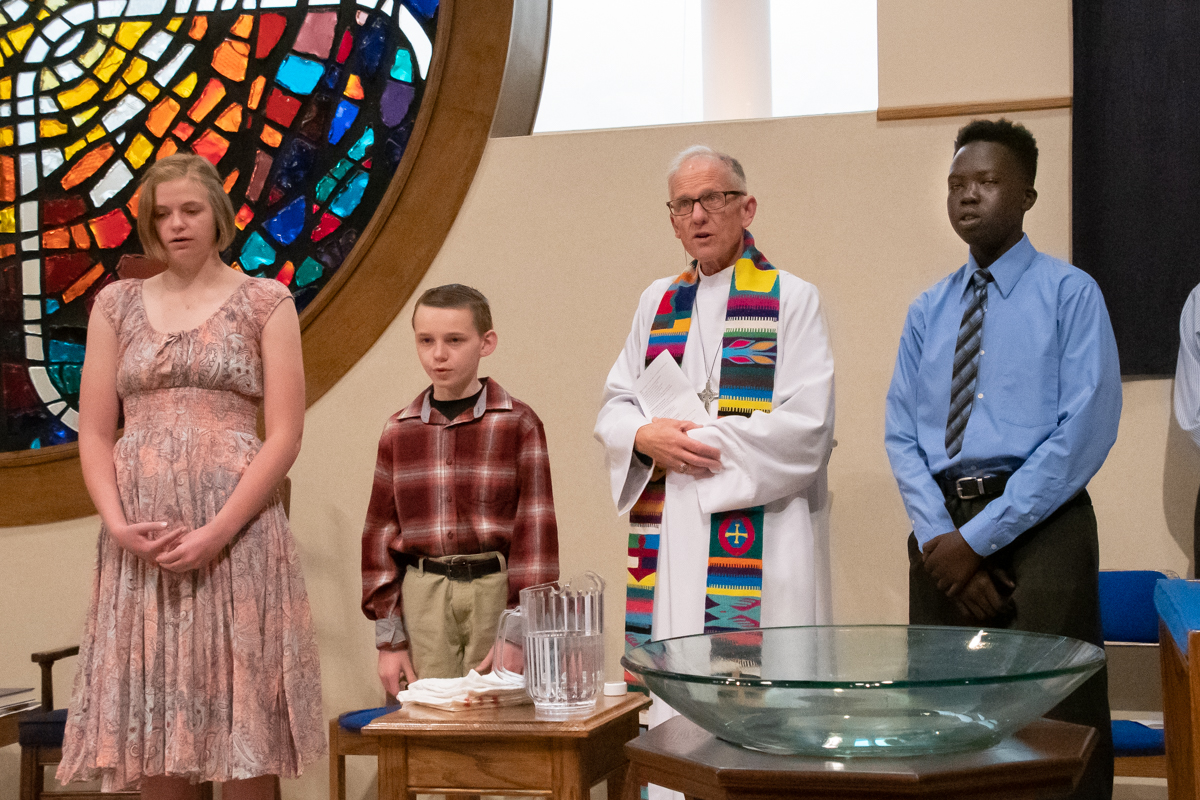 May 12, 2019:  For many young people, the Confirmation class is a rite of passage in their Christian faith journey.