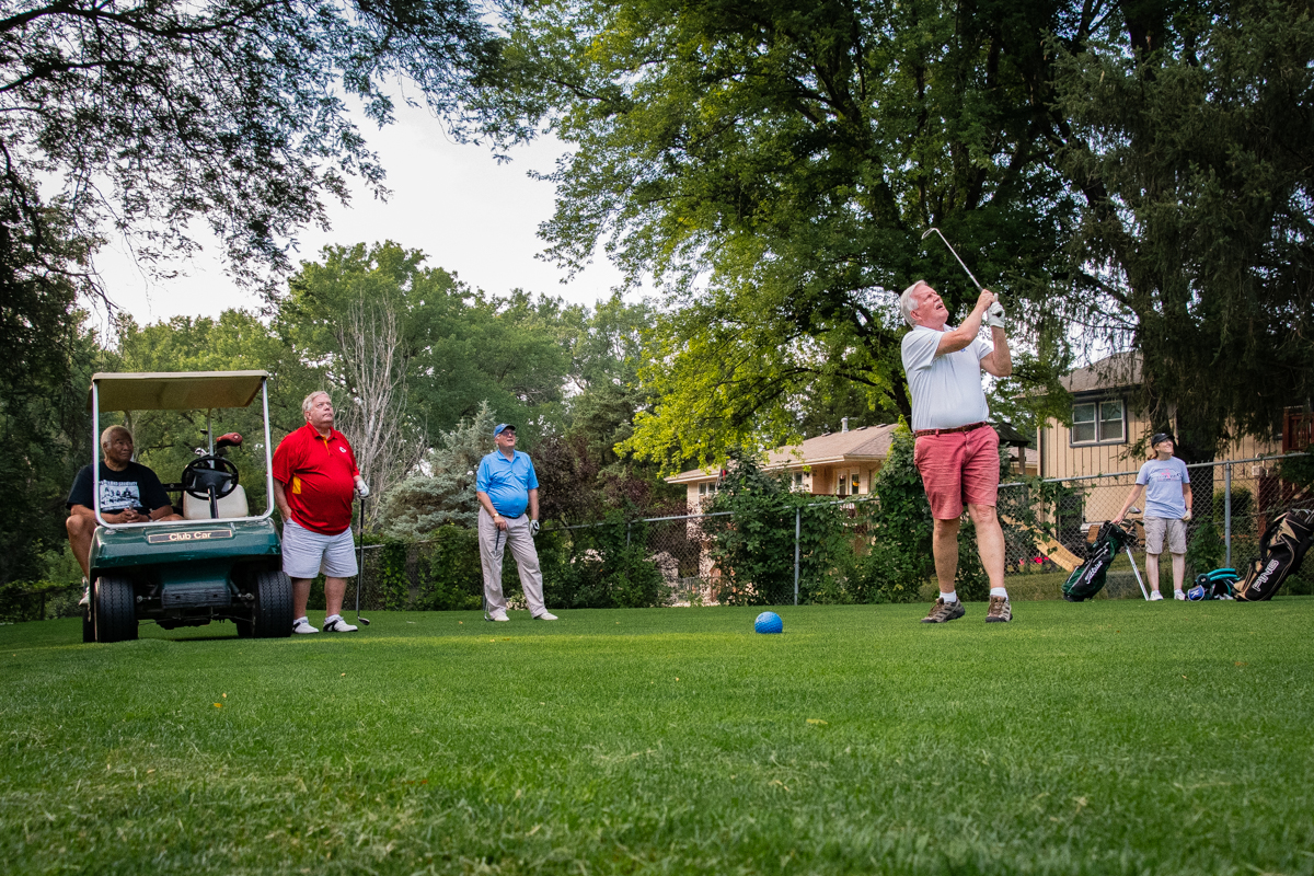 August 7, 2019:  2019 was the 45th season for the Church of the Master golf league. Members and friends enjoy fellowship each Wednesday throughout the summer.