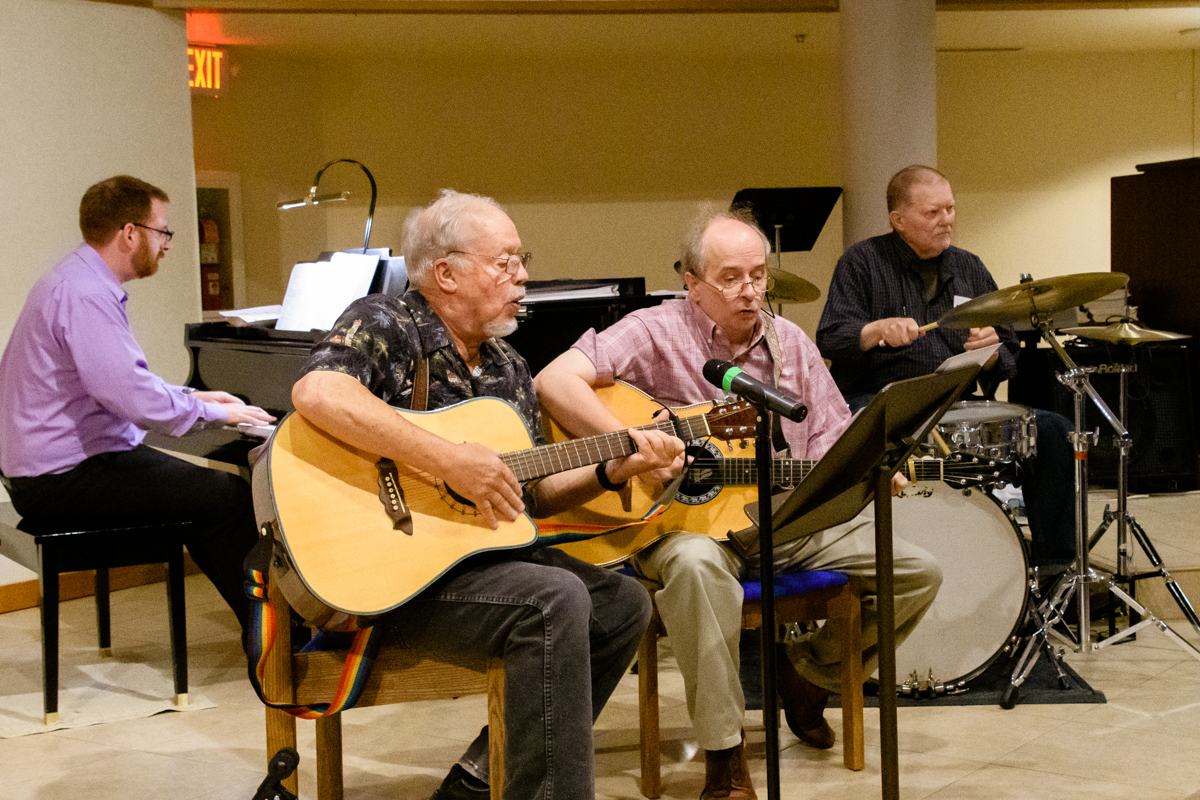August 11, 2019:  Church of the Master is blessed with many individuals who have musical talents that they share in Sunday Worship services.