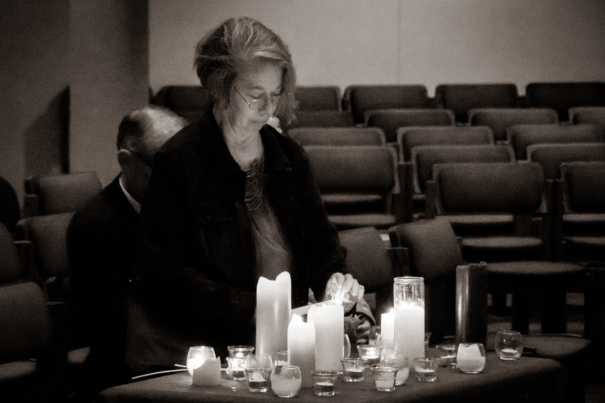 December 21, 2018:  The Longest Night service is a gentle time of Scripture, song, and  silence intended for the soothing and healing of the spirit.