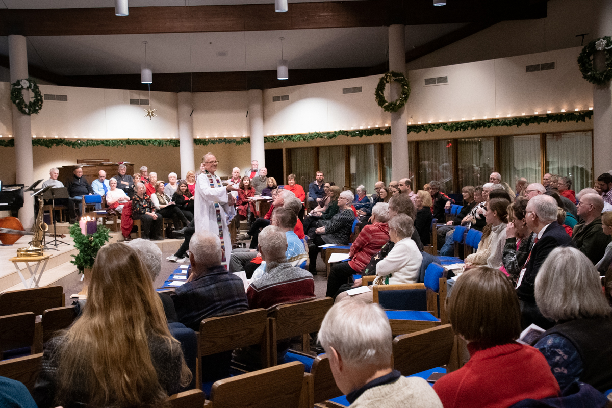 December 24, 2018:  Filled with family and many familiar faces, the early Christmas Eve service is always a highlight of the Holiday season.