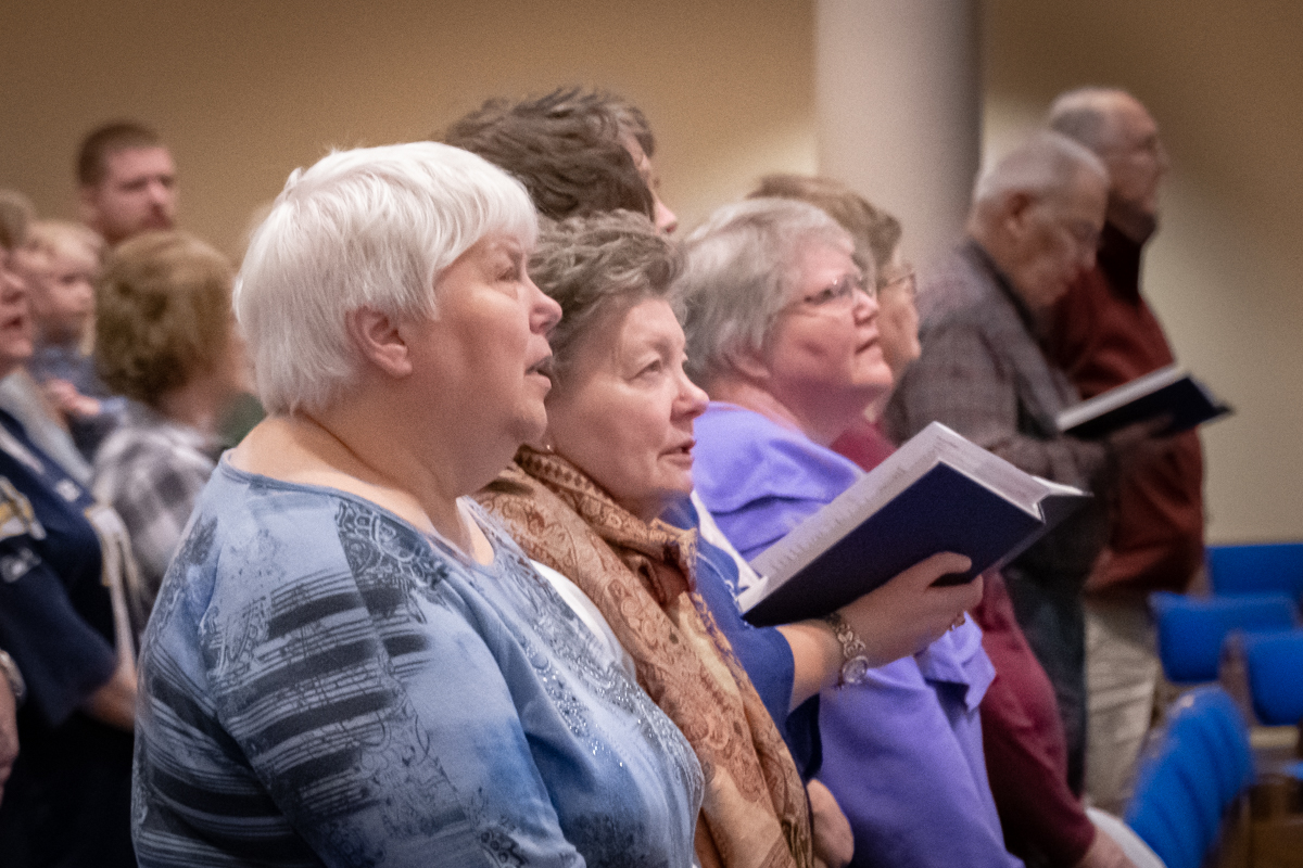 January 6, 2019:  We stand together and lift our voices in song to praise the Glory of God!