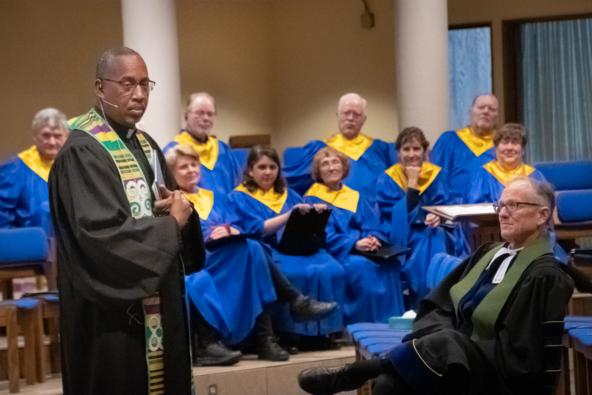 February 17, 2019:  The Reverend Jimmie Hawkins, Director of Public Witness for  the Presbyterian Church (USA), was a guest preacher.