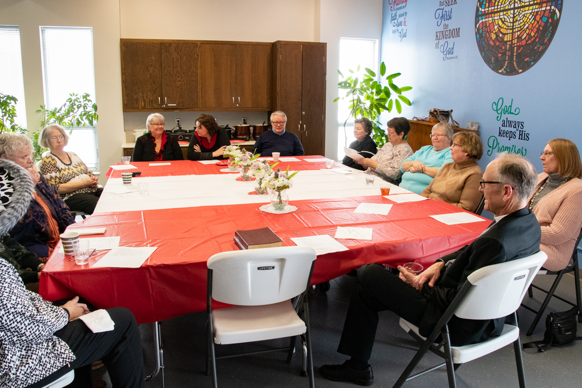 February 17, 2019:  The Grief Ministry holds their annual luncheon for those who have lost loved ones recently.