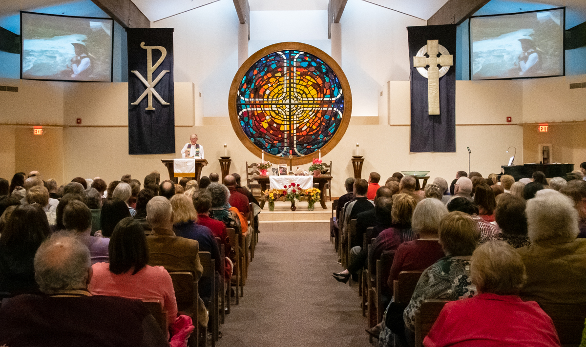 March 13, 2019:  The Sanctuary overflowed with the many friends and family of our dearly departed sister Sue Mehaffey at her funeral.